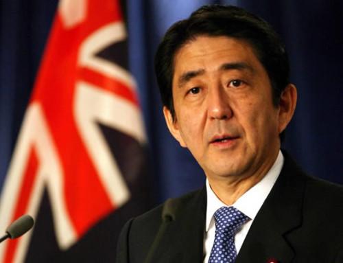 Abe's visit to Australia: raising the stakes