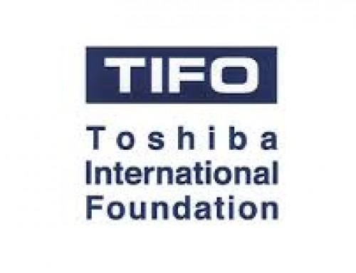Toshiba International Foundation – grants
