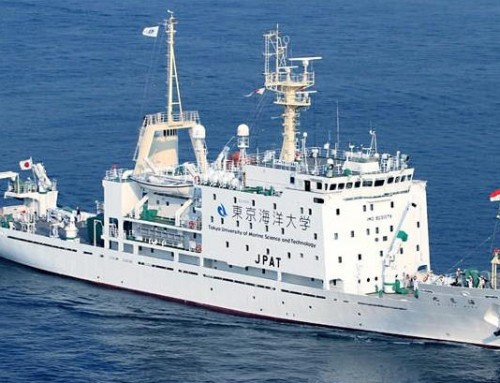 Umitaka Maru Research Vessel Visit