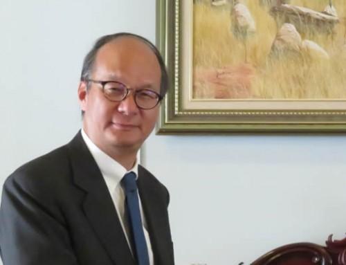 Ambassador Takahashi's visit to Cowra